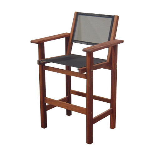 Kwila Bar Chair Text Sling
