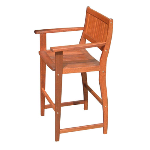 Kwila Bar Chair Timber