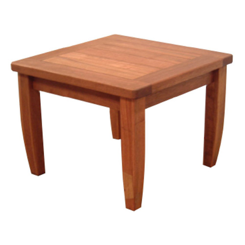 Coffee Table 600 SQ Teak & Kwila