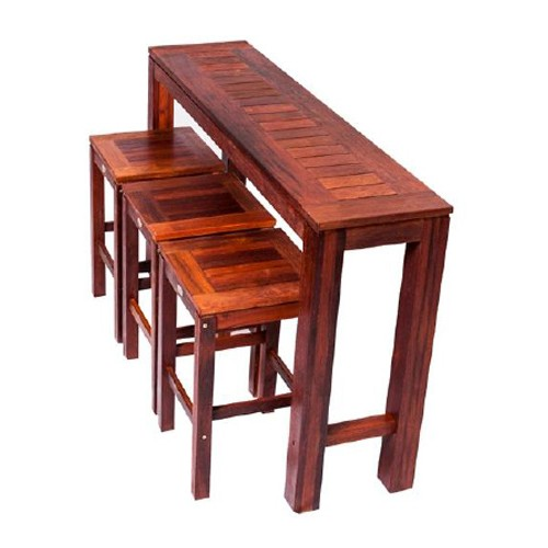 Kwila Bar Table & Stools