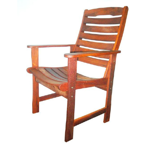Kwila King Curved Chair