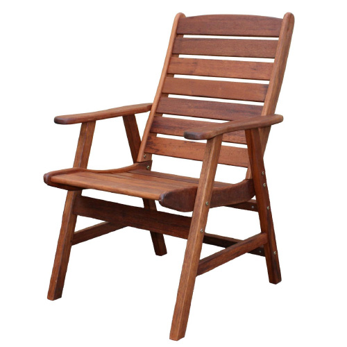 Kwila Highback Dining Chair