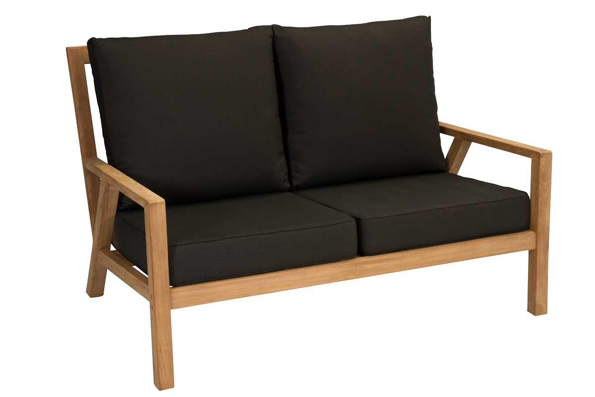 Teak 2 Seater Sofa