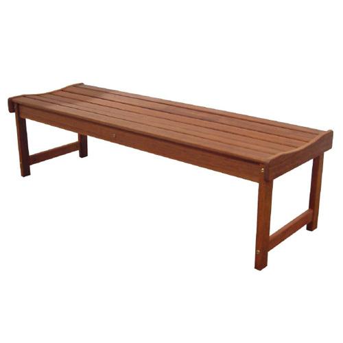 Kwila Backless Bench 1200