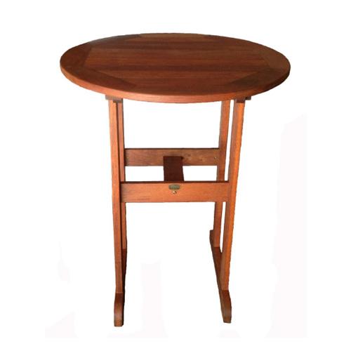Kwila Bar Table 800 round
