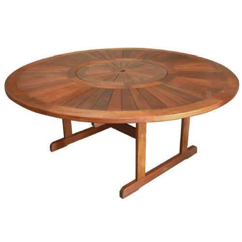 Kwila 1800 Round Dining Table